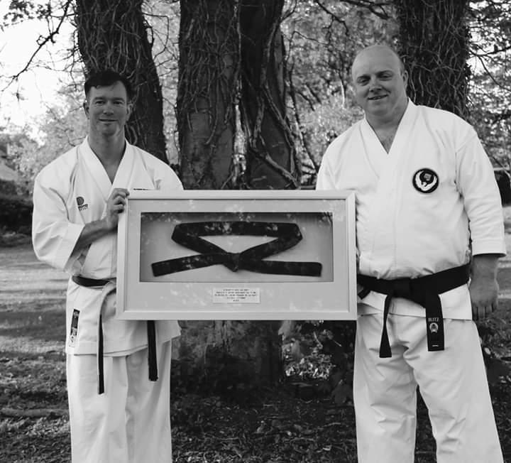Instructors with belt display
