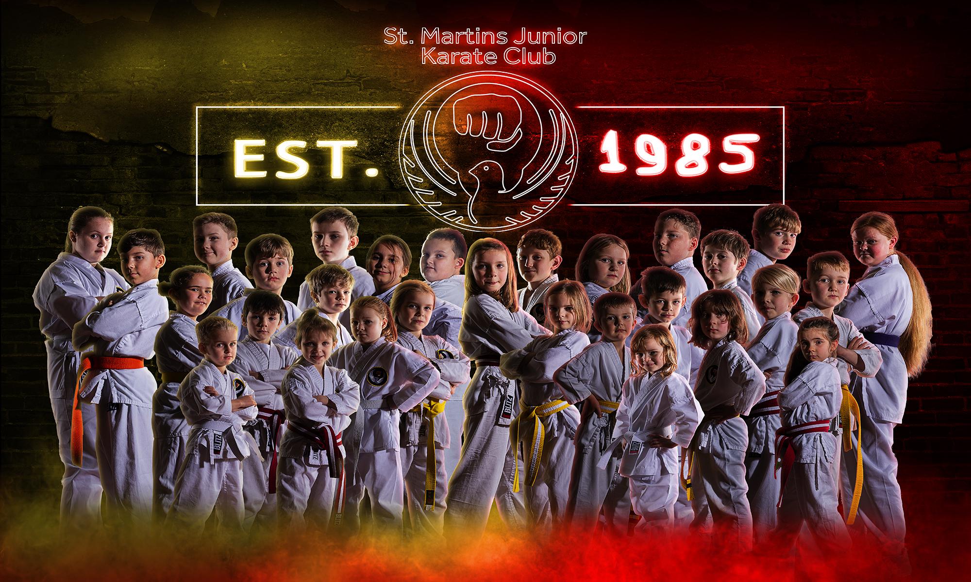 St. Martin's Junior Karate Club